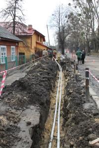 Нова тепломережа на вулиці Дорошенка