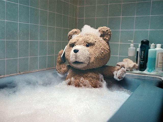 water-teddy